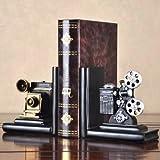 Sujetalibros originales baratos manualidades Miniatura Cine Estante para libros