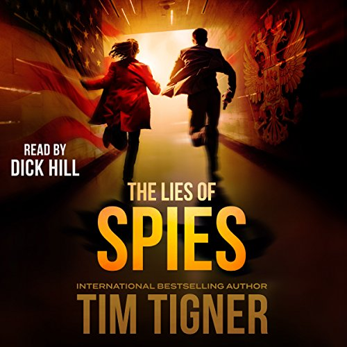 The Lies of Spies audiobook cover art