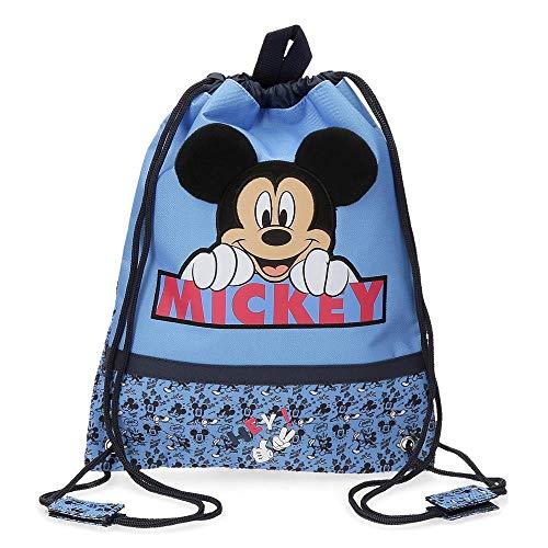Disney Mickey Moods Sacca merenda Rosso 27x34 cms Poliestere