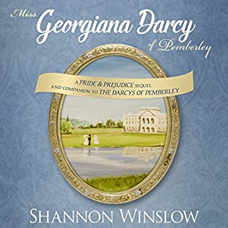 Miss Georgiana Darcy of Pemberley cover art