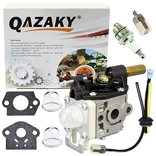 QAZAKY vergaser mit Kraftstoff Maintenance kit zündkerze für zama rb-k75 Echo a021000740 a021000742 gt-200-hc-150 hc-200-ppf-210 shc-210 shc-211 shc-212 srm-210 SRM -211
