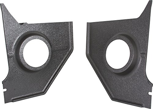 Retro Manufacturing KP-F39-6466 Blank Replacement Kick Panel for Ford Mustang Coupe/Fastback