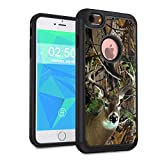 iPhone 6 Case, iPhone 6S Case,Spsun Dual Layer Hybrid Hard Protector Cover Anti-Drop TPU Bumper for Apple iPhone 6S (2015) / 6 (2014) 4.7 inch,Deer Hunting Camo