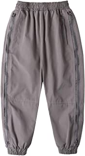 HOSD2019 nuevos Pantalones para niños Pantalones de otoño para niños Pantalones Casuales con Cremallera Lateral para niños...