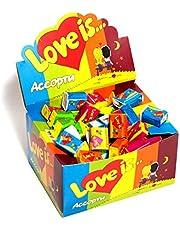 Love is Kauwgom - Diverse Alle 5 Flavours - 100 stuks Box