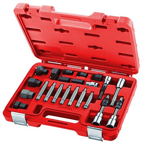 USAG U18810082 - Juego de 22 llaves para montar y desmontar tuercas de poleas de alternadores
