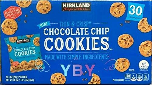 Kirkland Signature Kirkland Signature Mini Chocolate Chip Cookies 30 X 1 Ounce (Net Wt 30 Ounce ),