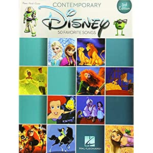 Contemporary Disney: 3rd Edition: Songbook für Klavier, Gesang, Gitarre (Piano-vocal-guitar)