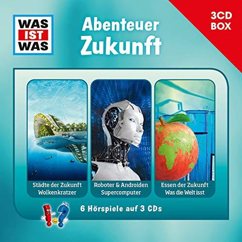 WAS IST WAS - 3-CD Hörspielbox Vol. 11 – Abenteuer Zukunft