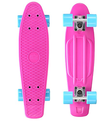 Star-Skateboards - 60-RT-01-BYBE - Berry and Heavenly - Monopatín, Color Azul