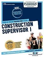Construction Supervisor I (Career Examination)
