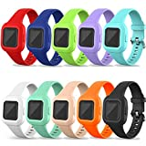 Bands Compatible with Garmin Vivofit jr 3 Band Replacement Silicone Wristband Water Resistant Straps...