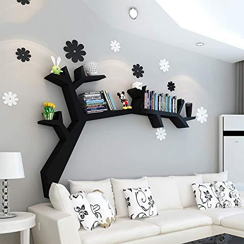 Estante HUO Pared Creativo en Forma de árbol Pared Sala de Estar Colgante de Pared Simple Moderno