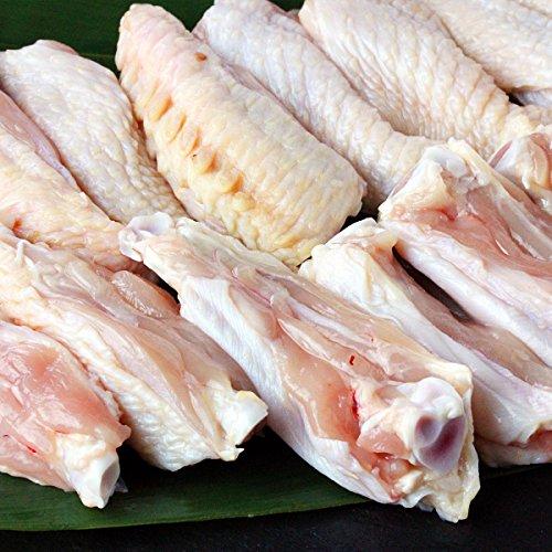 水郷のとりやさん 国産 鶏肉 チキンバー 手羽中 約300g (10〜14本) 水郷どり 産地直送 千葉県産 未調理 生