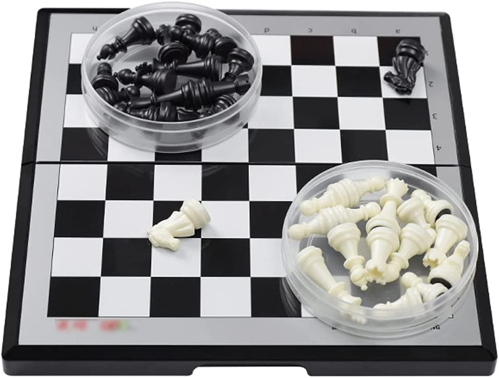 HJHJ Chess Game Magnetic Set Plastic 2 55% OFF Round with Max 49% OFF Storage