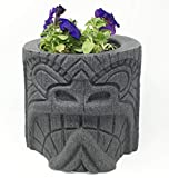 Soul Tiki Planter (Black Granite)