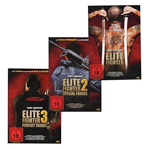 Elite Fighter 1 + 2 + 3 - Komplettset [3 DVDs]