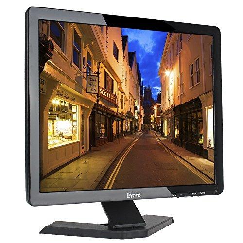Eyoyo Monitor a colori con BNC/VGA/AV/USB uscita auricolari altoparlante integrato (17pollici)