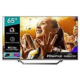 Hisense ULED 2020 65U71QF - Smart TV 65' Resolución 4K, Quantum Dot, FALD, Dolby Vision, Dolby Atmos, Vidaa U 4.0 con IA, Alexa Built-in