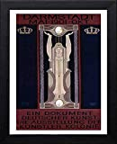 L Lumartos Vintage Poster Darmstadt Mai 1901 Okt, schwarz,