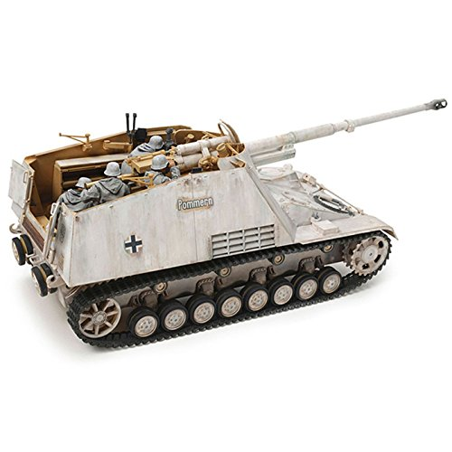 Tamiya 35335 1/35 Nashorn Heavy Tank Destroyer Plastic Model Kit, Beige
