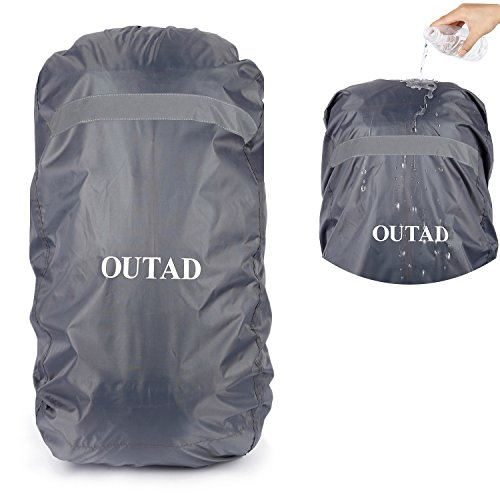 OUTAD Waterproof Backpack Rain Cover with Reflective Strip