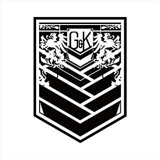 ドールズフロントライン GG3 耐ステッカー グリフィン Bk