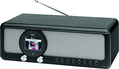 CTC IR 7004 BT Internetradio, PLL-RDS-UKW Radio, Bluetooth, DSP - Digital Sound Prozessor, AUX-IN, USB-Ladefunktion, TFT-Farbdisplay, Vollfunktions-Infrarotfernbedienung
