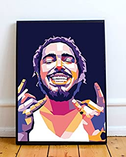Post Malone Limited Poster Artwork - Professional Wall Art Merchandise (More Sizes Available) (8x10)
