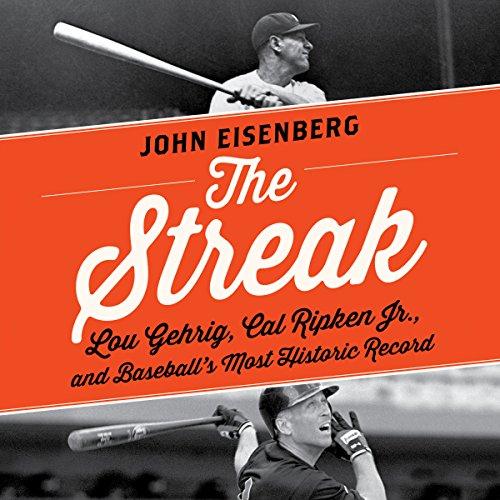 The Streak audiobook cover art