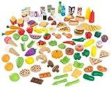 KidKraft 63330 Spiellebensmittel Deluxe Tasty Treats, Bunt