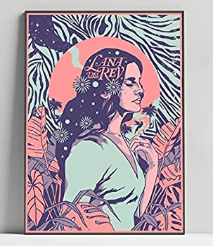 Lana Del Rey Limited Poster Artwork - Professional Wall Art Merchandise  More Sizes Available   8x10