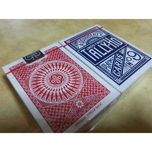 SOLOMAGIA 2 Tally Ho - Circle Back - Bunch Regular Poker Size Red and Blue Back