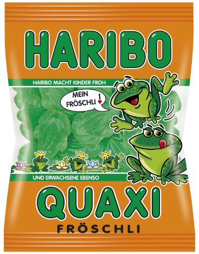 Haribo Quaxi Fröschli, 18er Pack (18 x 200 g Beutel)