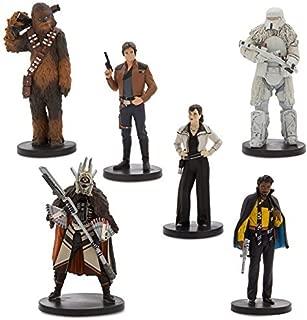 Disney Solo: A Star Wars Story Han Solo Figure Play Set 6 piece