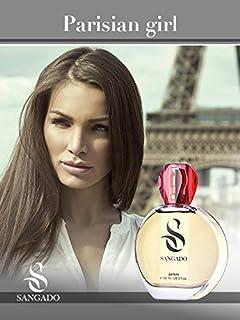 SANGADO Chica Parisina Perfume para Mujeres Larga Duración de 8-10 horas Olor Lujoso Oriental Vainilla Francesas Finas...
