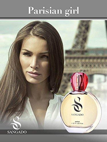 SANGADO Fragrances Pariserin Parfüm für Damen, 60ml
