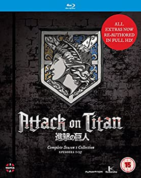 Attack On Titan  Complete Season One Collection [Blu-ray]