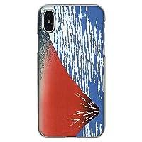 iPhone6 / iPhone6s 専用 スマホケース 三十六景 赤富士 柄 ハードクリアケース