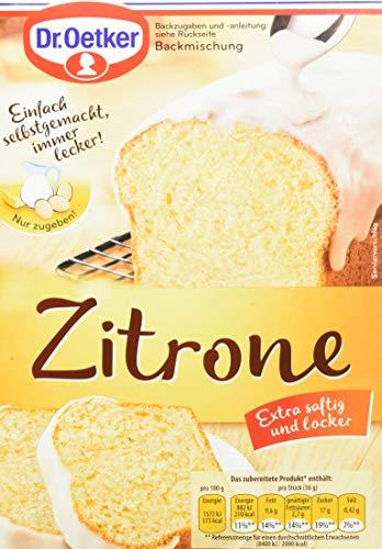 Dr. Oetker Zitronenkuchen, 4er Pack (4 x 485 g)