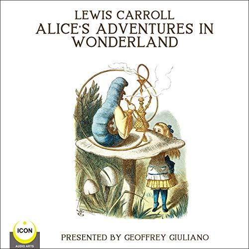 『Lewis Carrol Alice's Adventures in Wonderland』のカバーアート