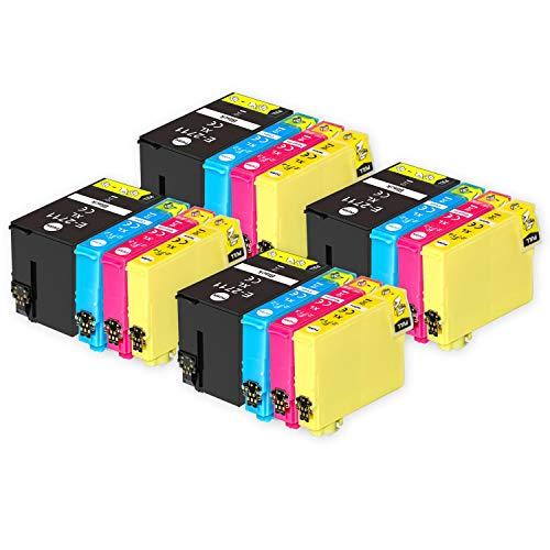 Go Inks Compatible Cartuchos de Tinta para reemplazar Epson 27 & 27XL Serie Non-OEM *Nueva Versi�n* (16 Tintas)