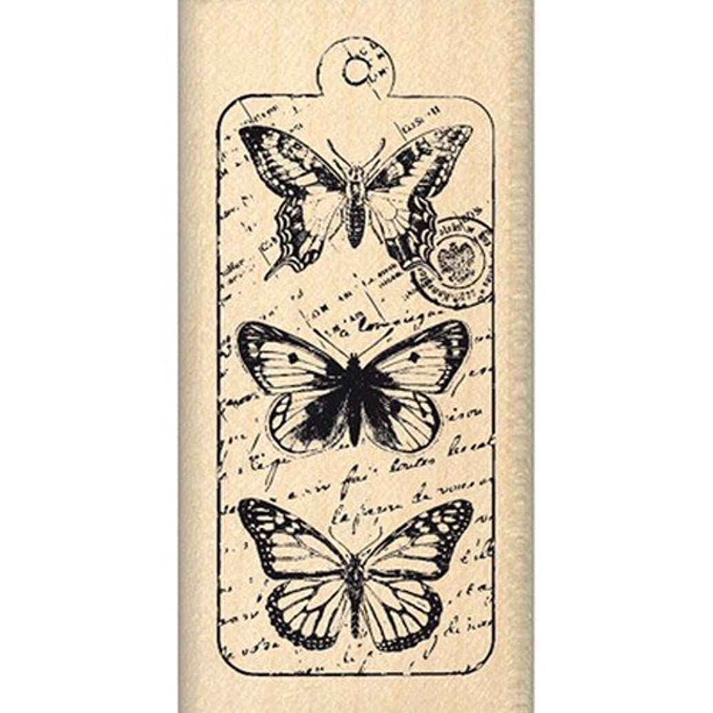 Florilèges Design FC212063 Scrapbooking Stamp Butterflies Beige 6 x 3 x 2.5 cm