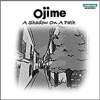 A shadow on a path