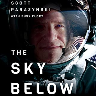 The Sky Below audiobook cover art