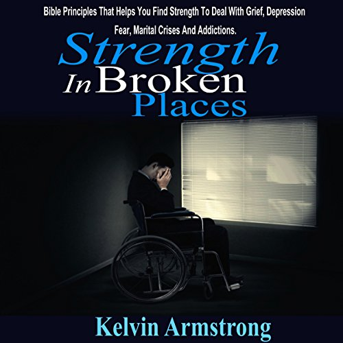 Strength in Broken Places audiobook cover art