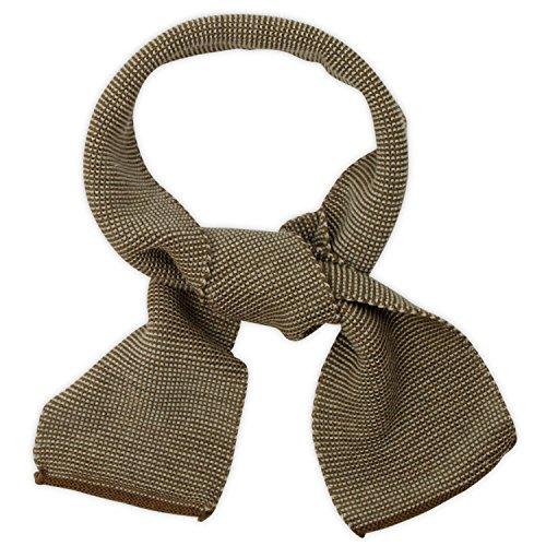 Disana 3460500 - Melange-Schal Wolle haselnuß
