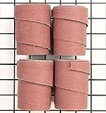 Jet 60-6080 16' Sandpaper Wraps, 80 Grit (4-Pack)