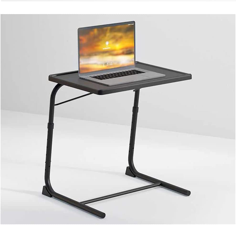 LYLSXY overseas Folding Tray Table Snack Portable T Adjustable In a popularity Side