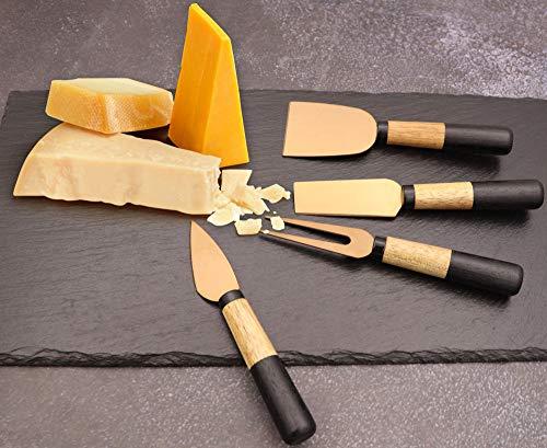 Wrnkl Fre Rose Gold Cheese Knife Set